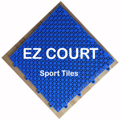 Ez Court Sport Tiles For Indoor Outdoor Sports Game