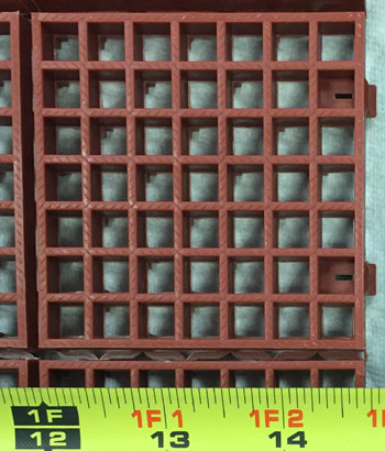 Perforated Plastic Tile