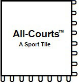All-Courts A Sport Tile