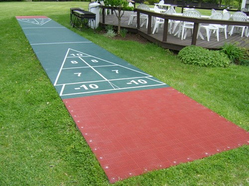 Shuffleboard Court Tiles