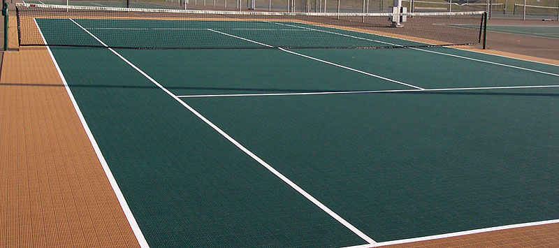 tennis court tiles for outdoors